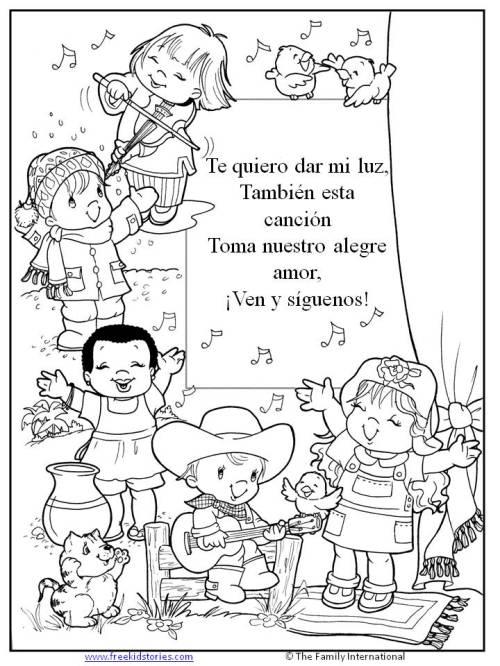 paginas para pintar niños 2