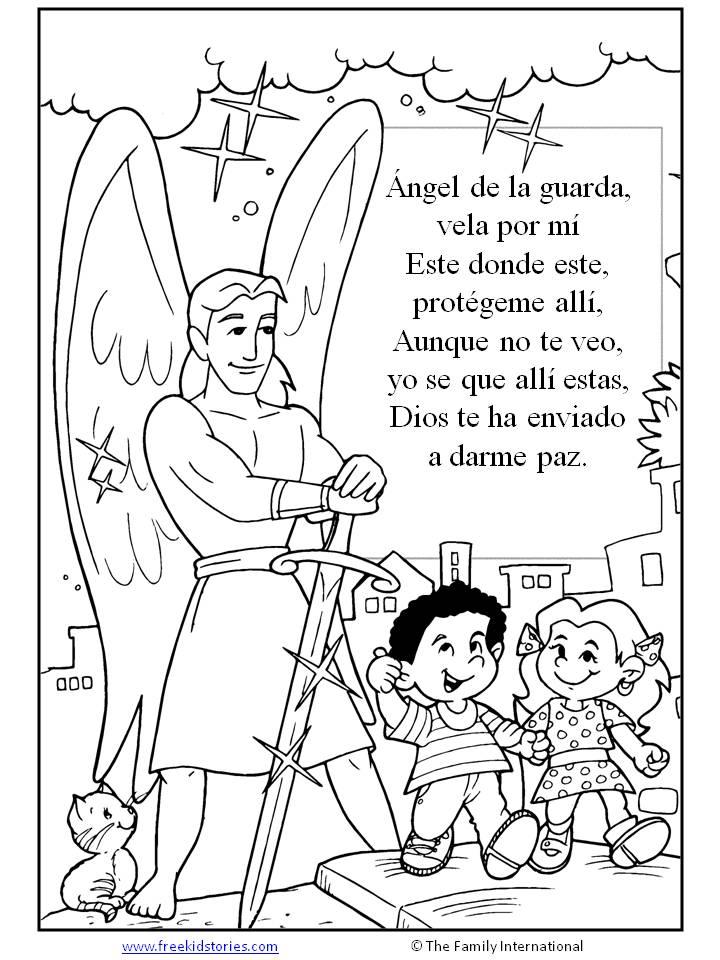 paginas para pintar  Free Kids Stories