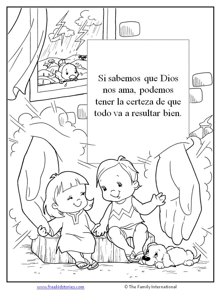 paginas para pintar  Free Kids Stories