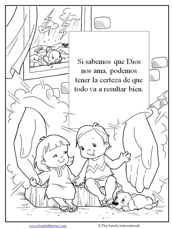 Paginas para pintar free kids stories - Actividades para ninos pequenos ...