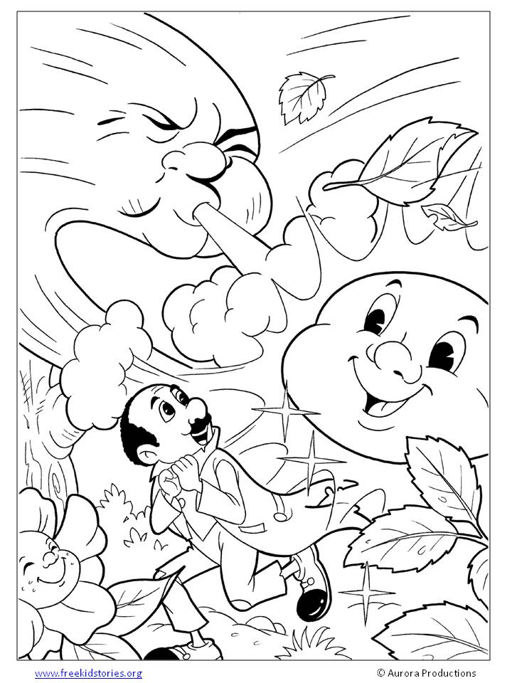 aesop fable coloring pages - photo#21