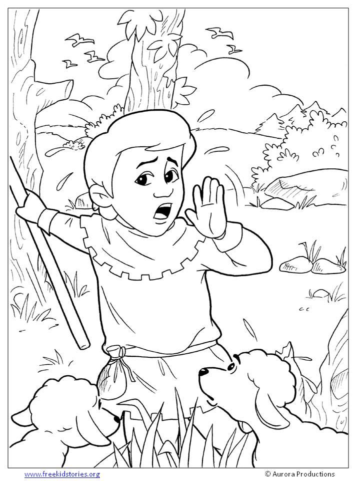 Fábulas de Esopo: Páginas para colorear – Aesop's Fables Coloring ...