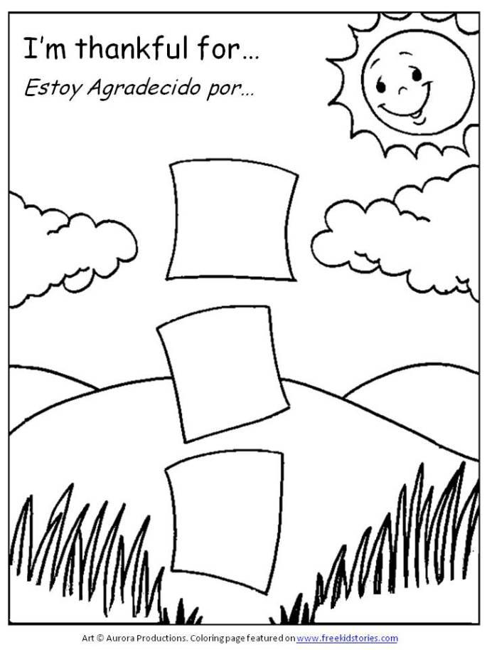 Dia de Acción de Gracias – páginas para pintar – Thanksgiving ...