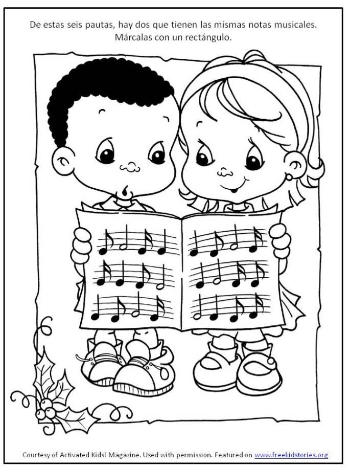 actividad navideña para niños 4