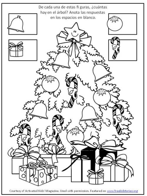 actividad navideña para niños 6