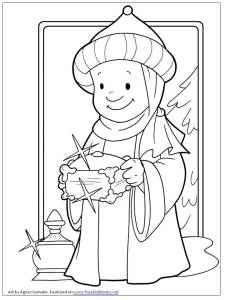 Dia de Reyes - pagina para pintar - Epiphany coloring page