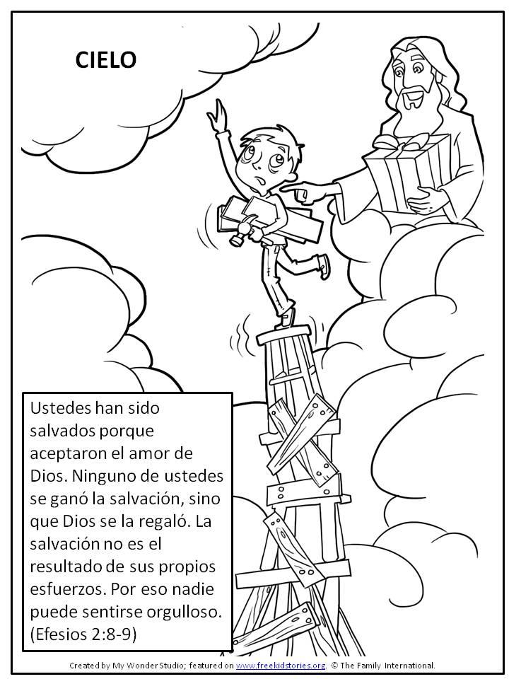 Versículos Clave de la Biblia: Salvación mediante Jesús – Free Kids ...