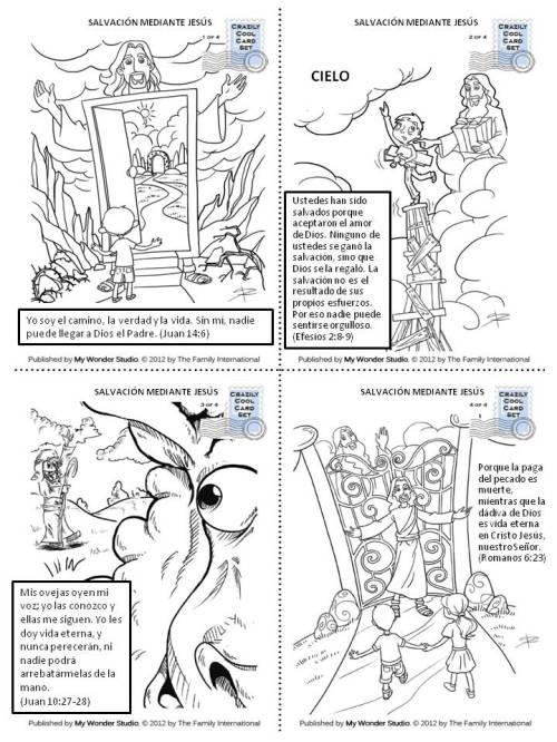 versículos de la Biblia para niños - salvación