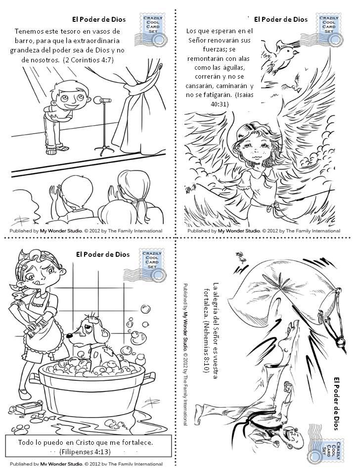 Versículos Clave de la Biblia: El Poder de Dios – Free Kids Stories