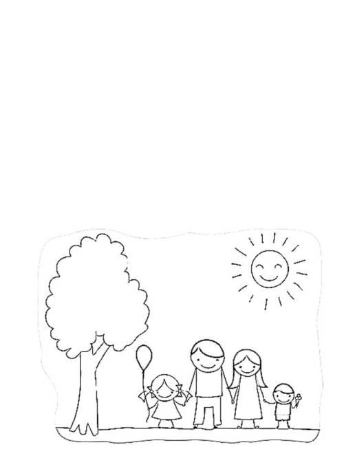 Día de padre tarjeta blanco y negro ninos