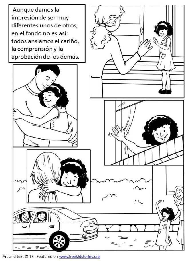 Amor imparcial: Páginas para pintar – Impartial Love Coloring Pages ...