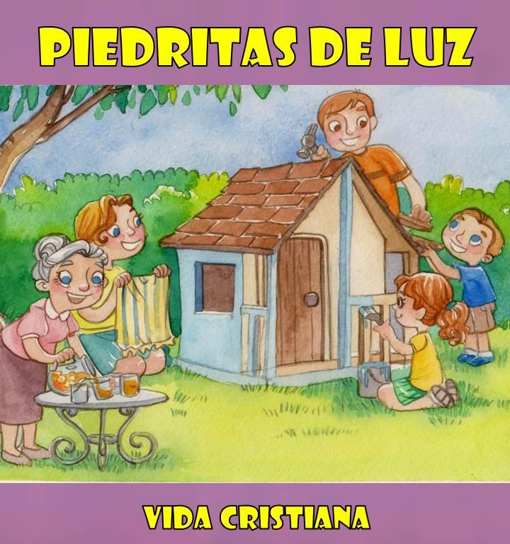Piedritas de luz: Vida Cristiana libro devocional gratis para niños