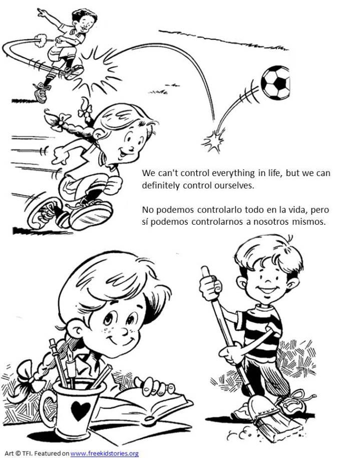 personal responsibility coloring pages for children - sentido de responsabilidad personal paginas para pintar ninos 2