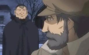 Jean Valjean and bishop Les Miserables