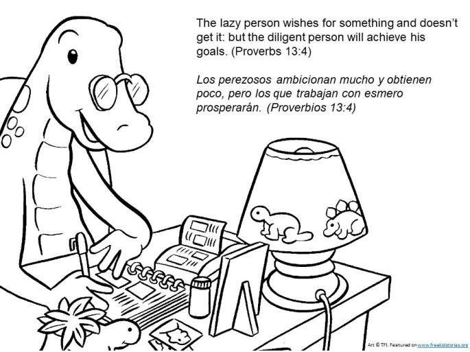 Bible verses for children: School - versiculos del a biblia para ninos: escuela