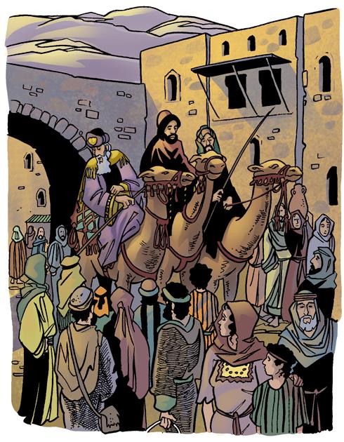 primer Dia de Reyes historia para ninos