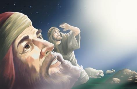 The Day I Saw Jesus children's story 2