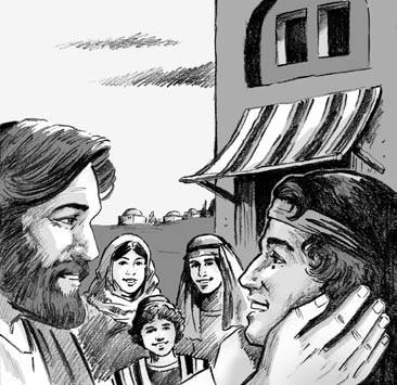 The Day I Saw Jesus children's story 3