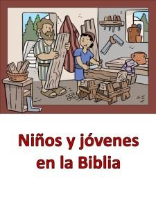 ninos y jovenes en la biblia